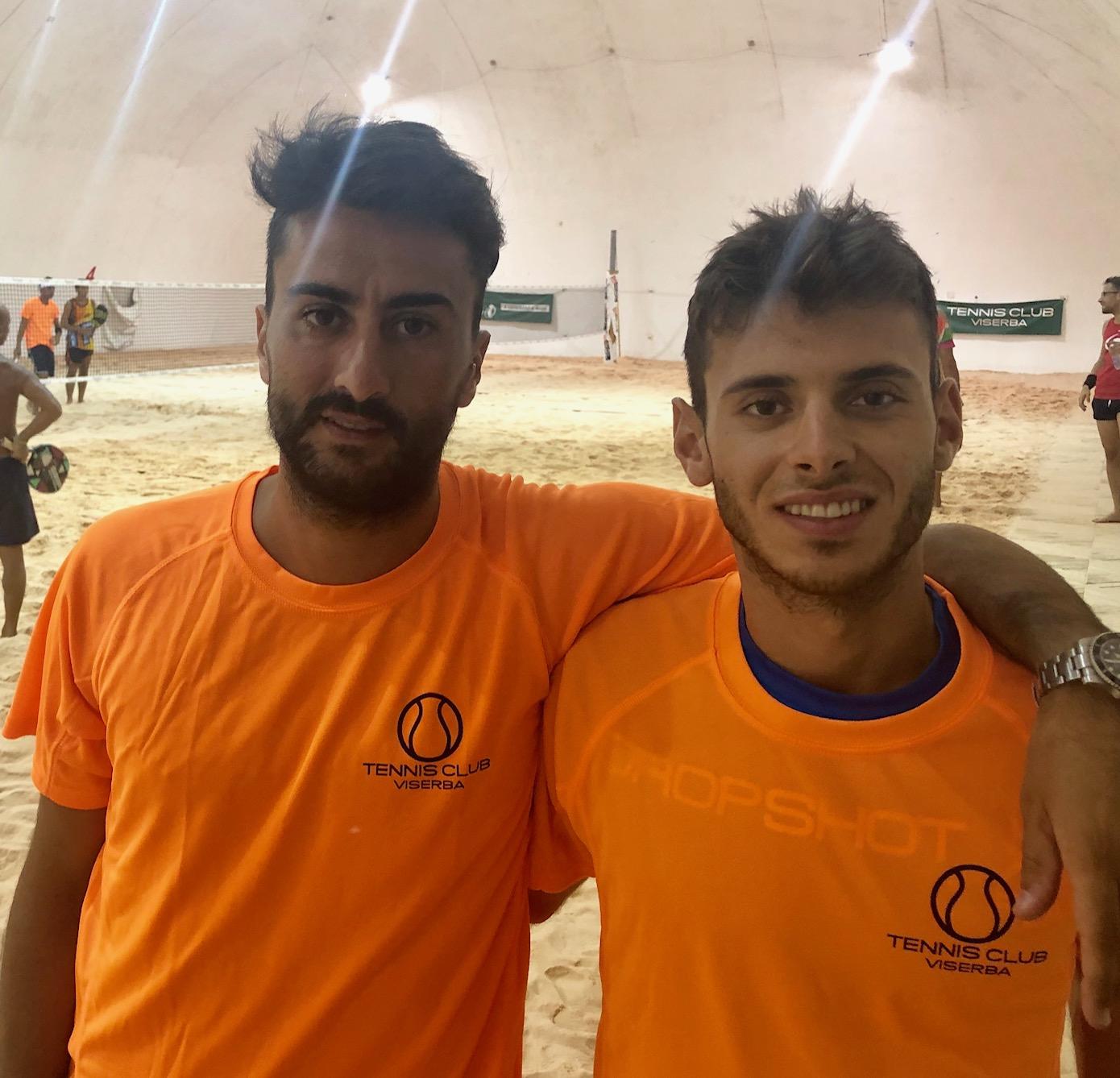 Beach Tennis Viserba: Matteo Bugli e Francesco Ferri