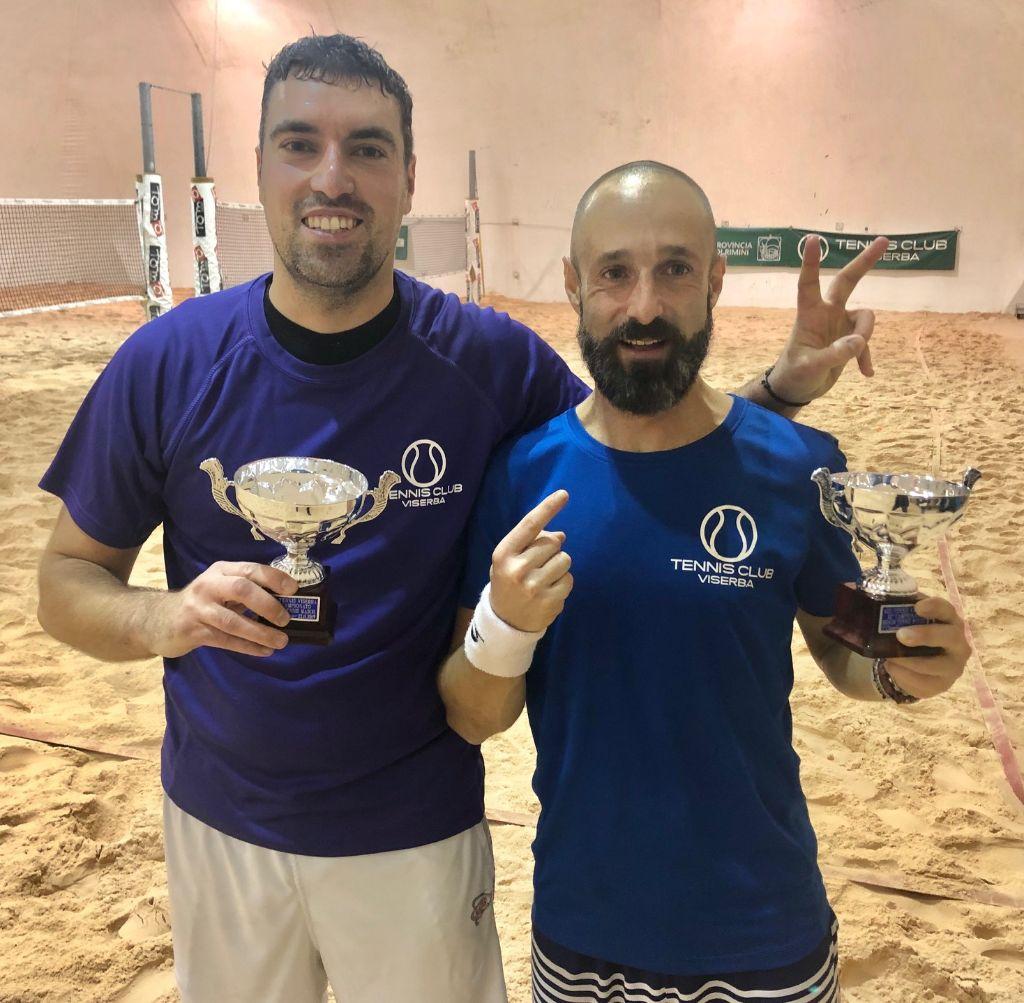 Beach tennis Viserba: Enrico Casadio e Matteo Amadori vincitori del Master