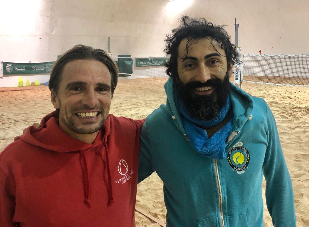 Beach tennis Viserba: Bruno Bazzocchi e Morris Sciolti