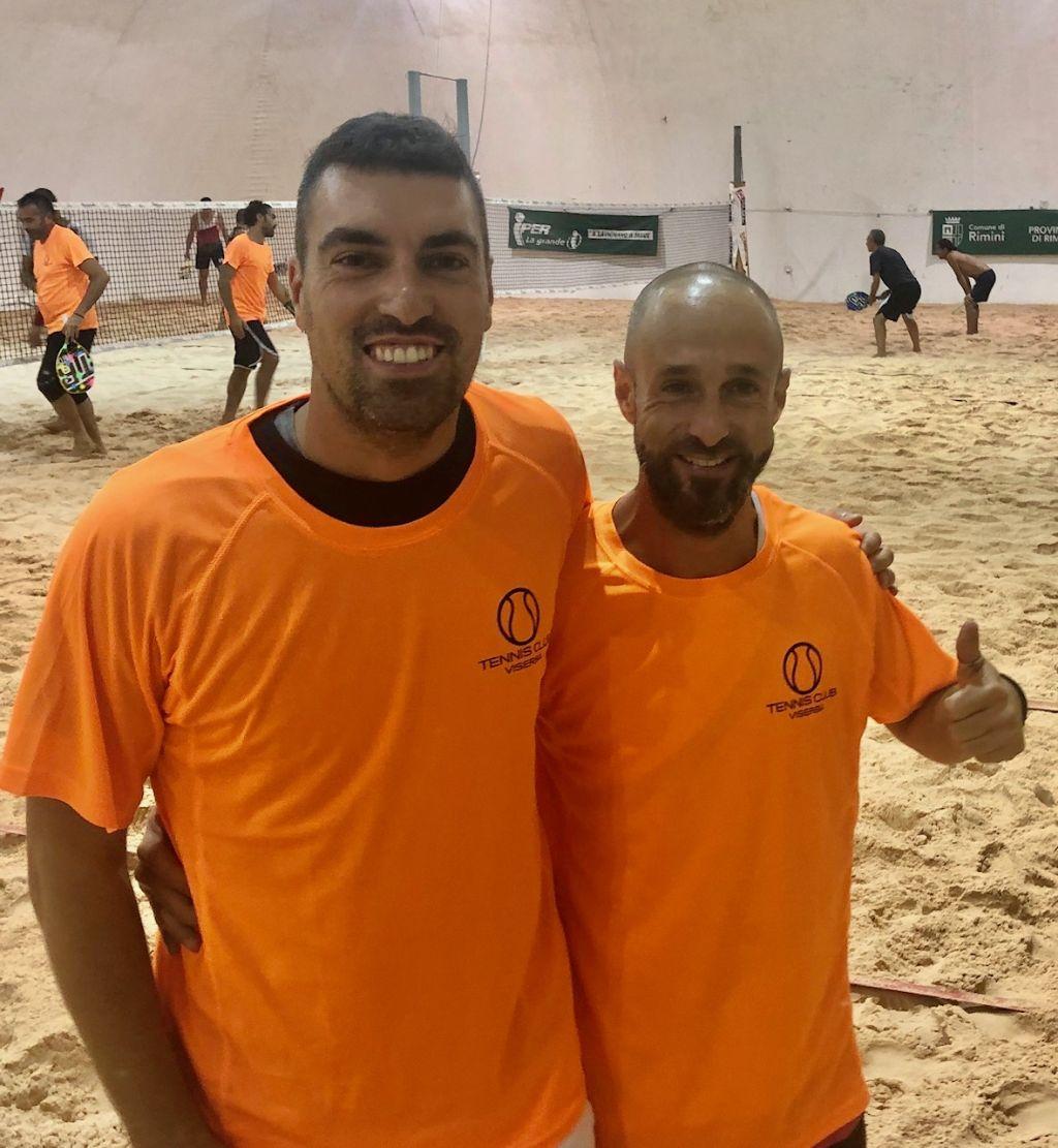 Beach tennis Viserba: Enrico Casadio e Matteo Amadori