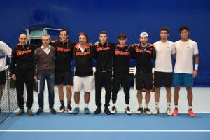 La squadra di A1 del Circolo Tennis Massa Lombarda
