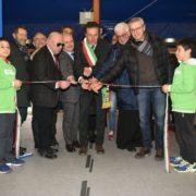 Il taglio del nastro alla Oremplast Tennis Arena di Massa Lombarda