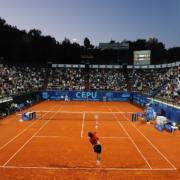 Il Centrale del Centro Tennis Cassa di Risparmio a San Marino