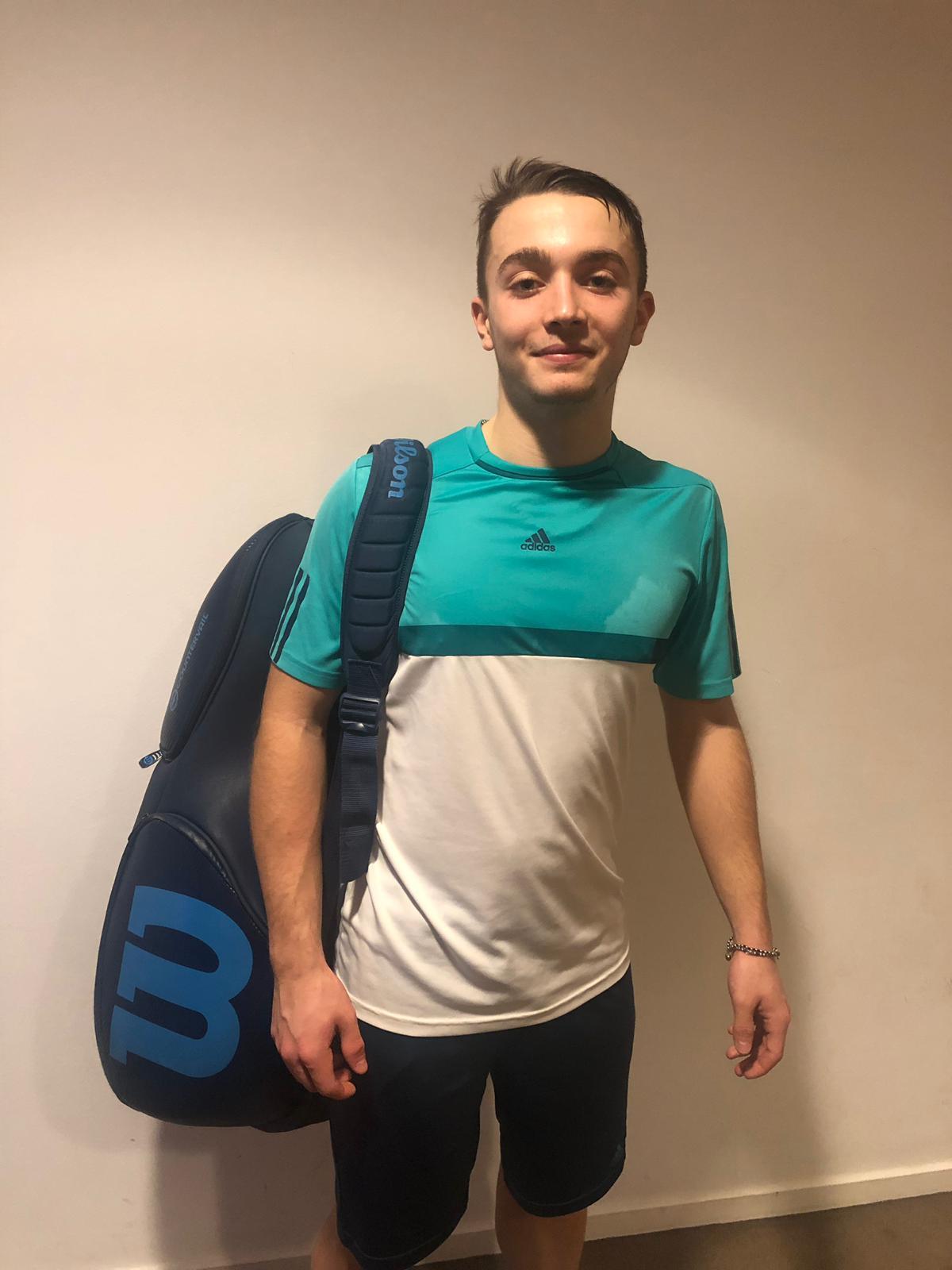 Il forlivese Diego Bravetti (San Marino Tennis Academy)