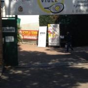 L'ingresso del Circolo Tennis Zavaglia a Ravenna
