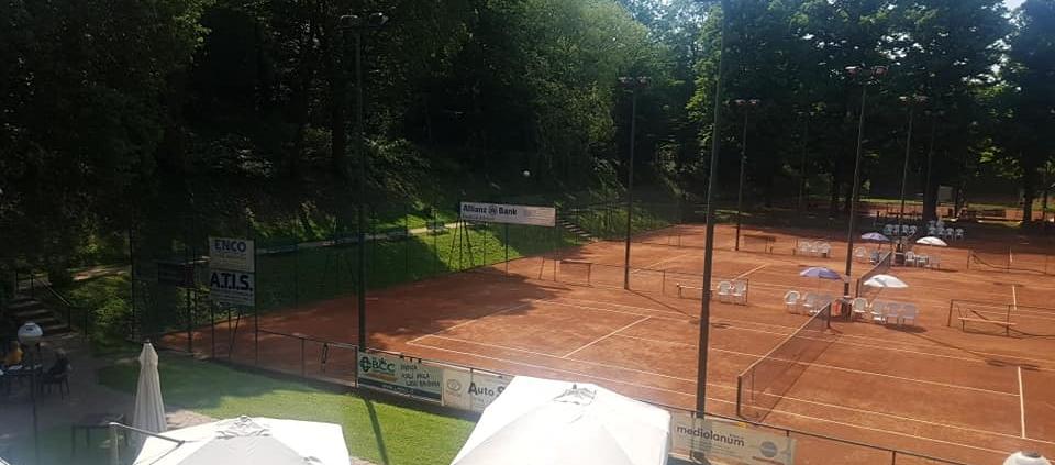 I campi del Circolo Tennis Cacciari Imola