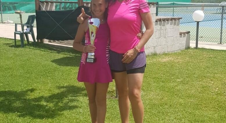 Chiara Dal Pozzo con Francesca Guardigli, madre e allenatrice