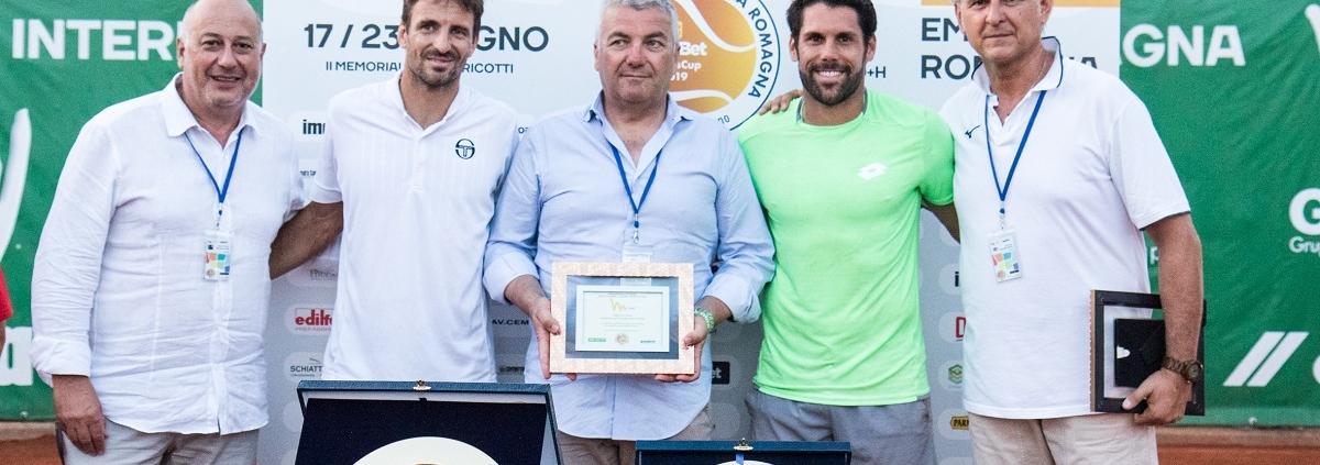 La premiazione degli Internazionali di Tennis Emilia Romagna - GoldBet Tennis Cup a Parma