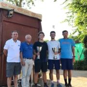 La premiazione di Enea Castelvetro e Nico Gnoli