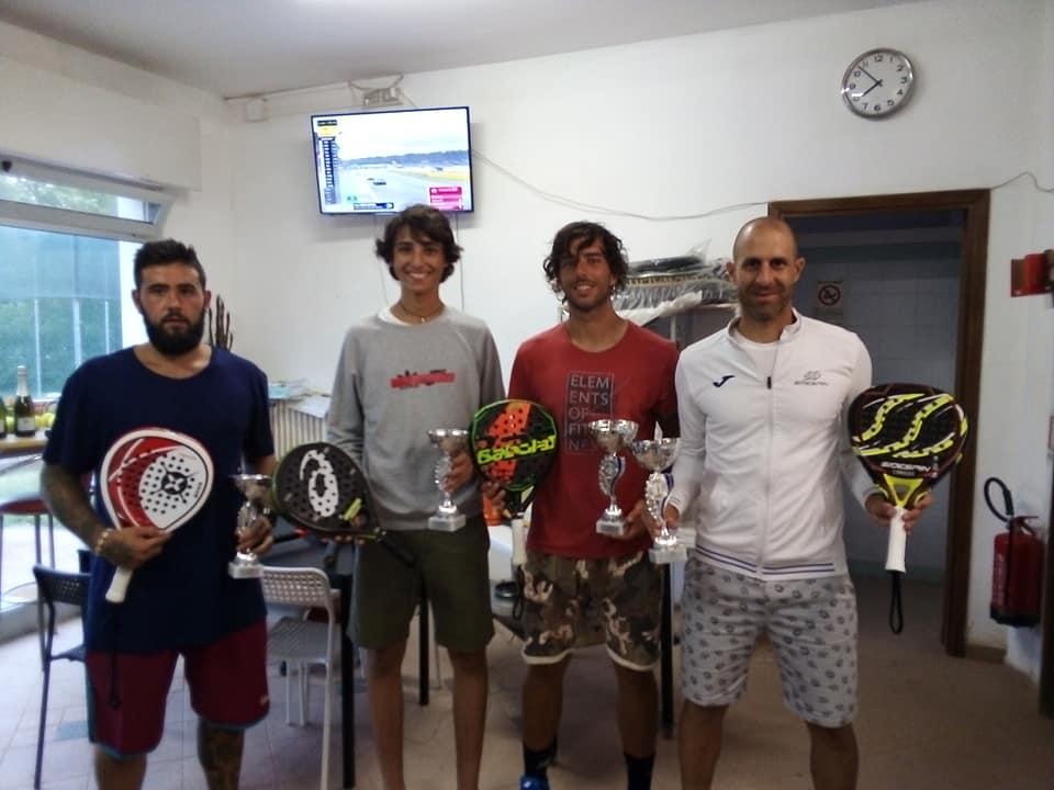 Circuito SideSpin: i finalisti all'Up Tennis Torre Pedrera
