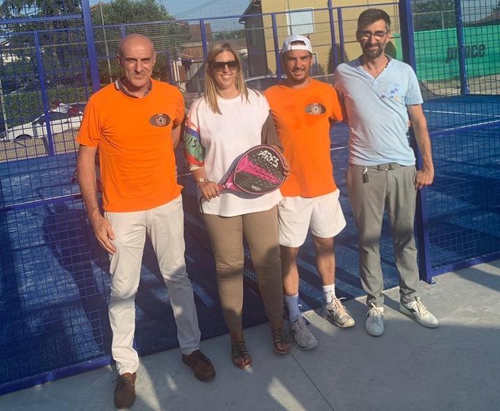 L'inaugurazione del nuovo campo da padel al Russi Sporting Club