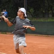 Mattia Ricci in azione
