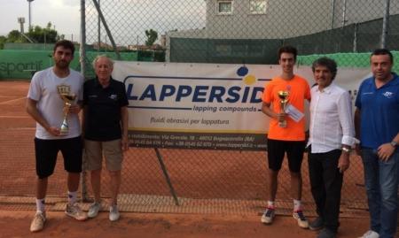 La premiazione dell'Open del Circolo Tennis Zavaglia