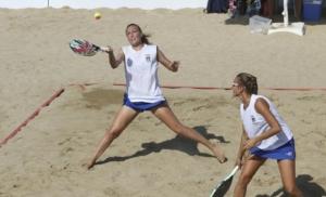 Beach Tennis: la coppia Nobile-Valentini
