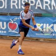 Francesco Forti in azione ad Appiano
