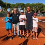 Tennis Club Riccione: la premiazione under 12 maschile