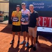 San Marino Junior Cup: la premiazione di Enrico Baldisserri e Nicola Filippi