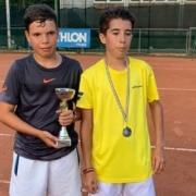 Tennis Club Conselice: Francesco Campestri e Leonardo Gherardi, protagonisti della finale Under 12