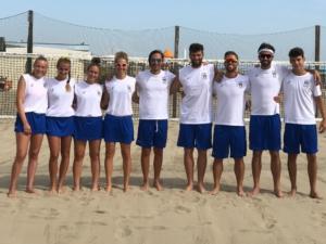 La Nazionale italiana di beach tennis per i Mediterranean Beach Games
