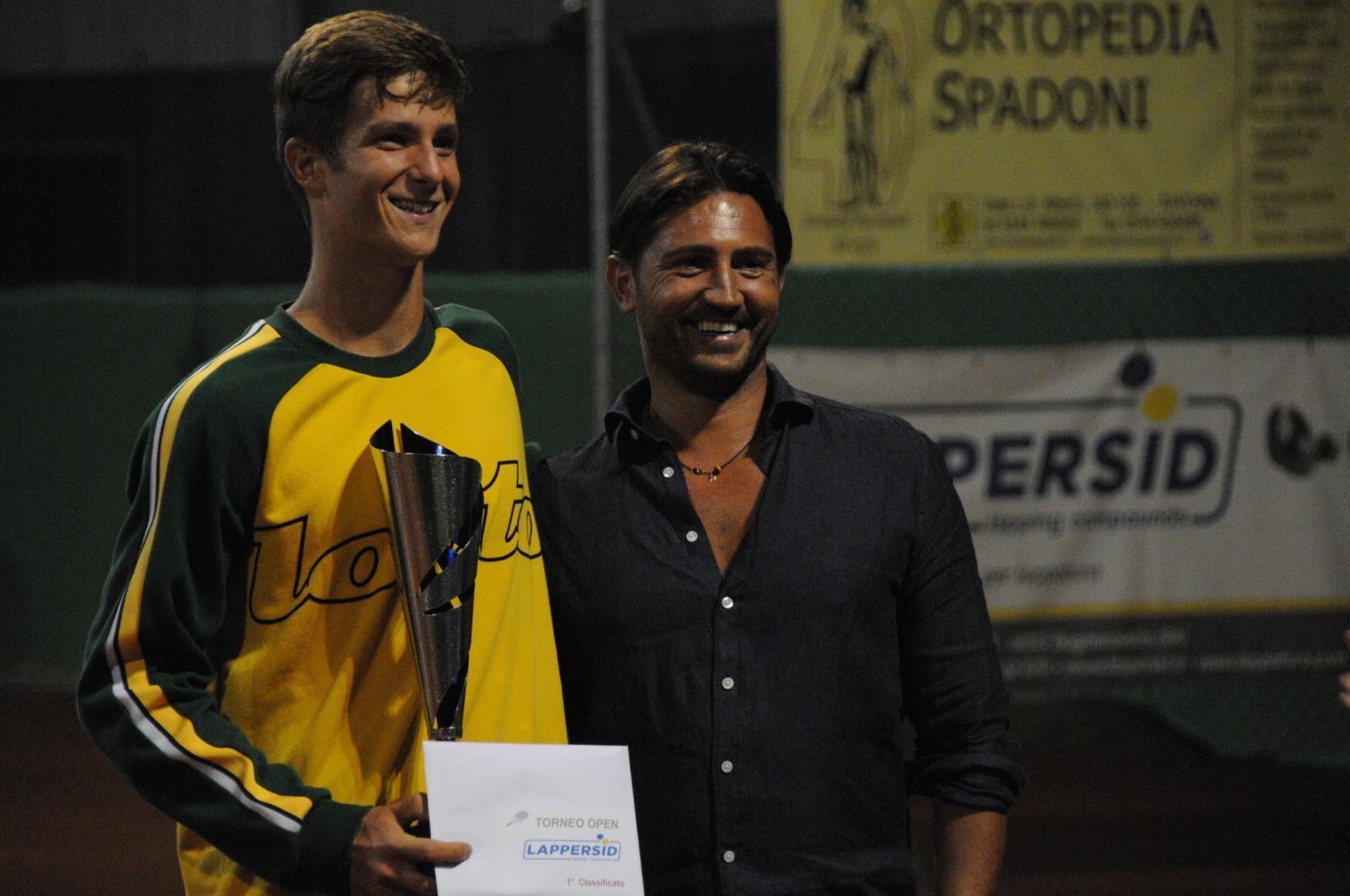 Trofeo Lappersid: la premiazione di Michele Vianello
