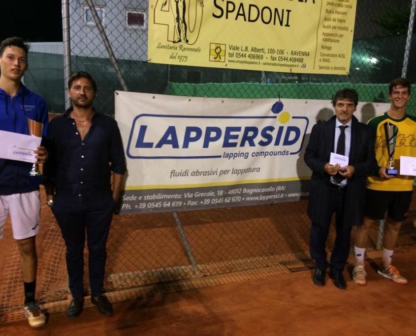 La premiazione di Michele Vianello e Alberto Morolli