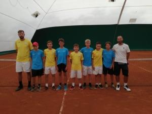 Il team under 12 maschile del Ct Zavaglia alle finali nazionali