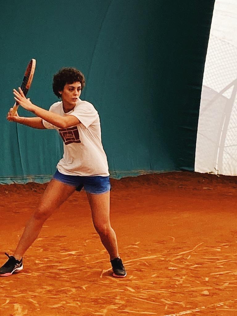 Emma Ferrini in azione