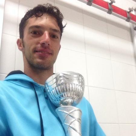Umberto Crocetti con il trofeo