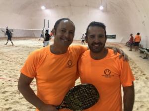 Beach tennis Viserba: Claudio Mecozzi e Michele Morosato