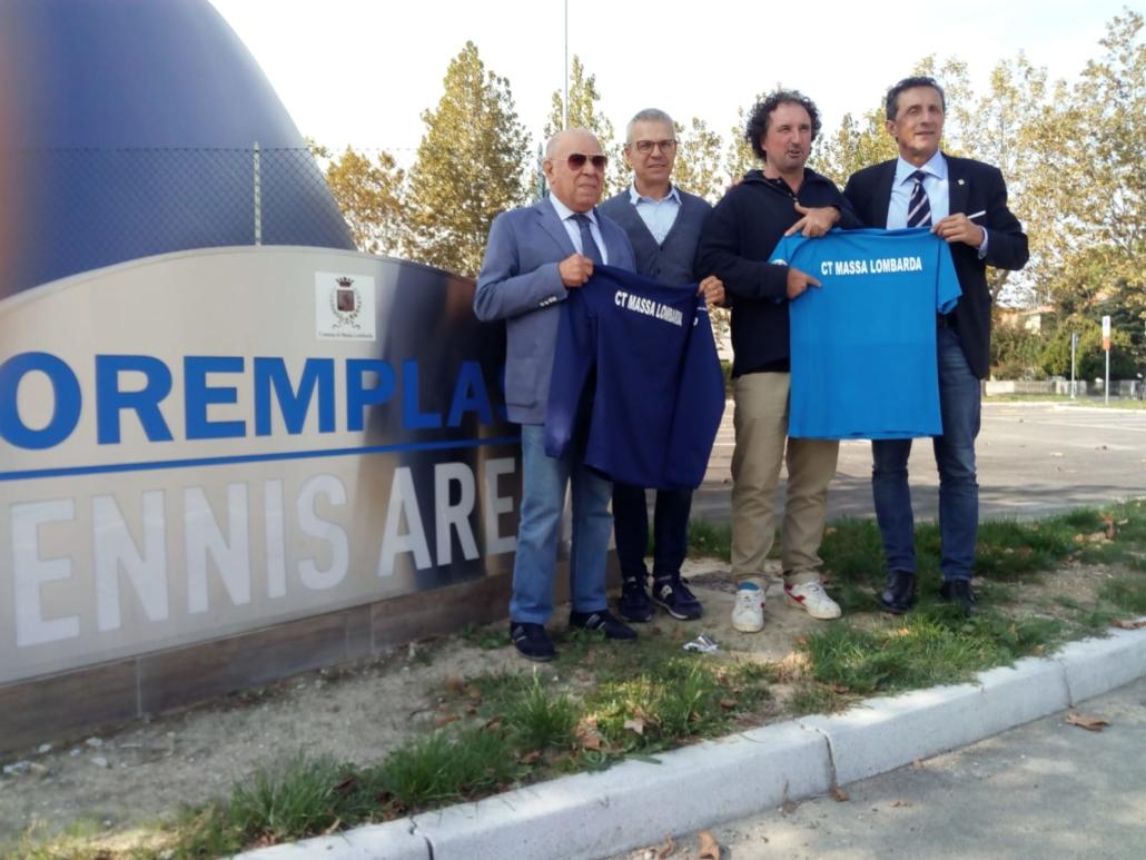 Circolo Tennis Massa Lombarda: presentazione squadra A1 maschile