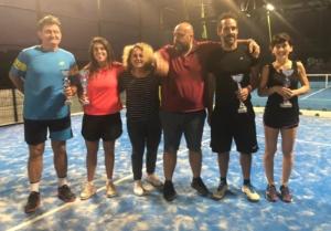 Circuito SideSpin padel: i finalisti del doppio misto al New River Piacenza