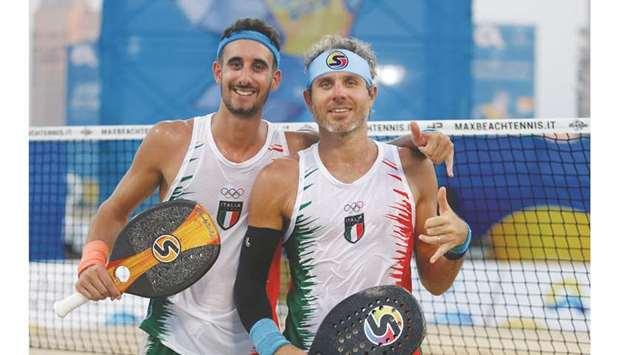 Beach Games: Michele Cappelletti e Alessandro Calbucci