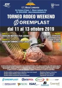 Torneo Rodeo terza categoria Massa Lombarda