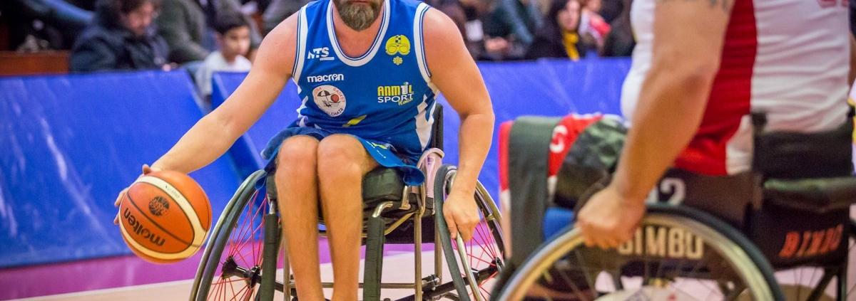 Mirko Acquarelli, atleta del Riviera Basket Rimini