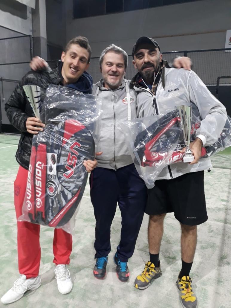 Circuito Sidespin tappa Padel Project: i vincitori Andrea Patracchini e Alberto Albertini