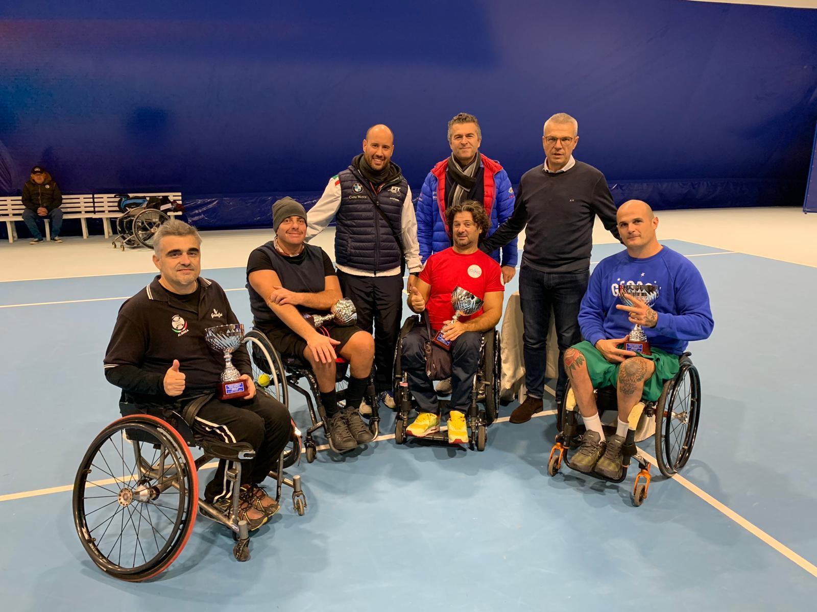 Tappa circuito wheelchair a Massa Lombarda