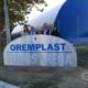 Esterno dell'Oremplast Tennis Arena con famiglia Pagani