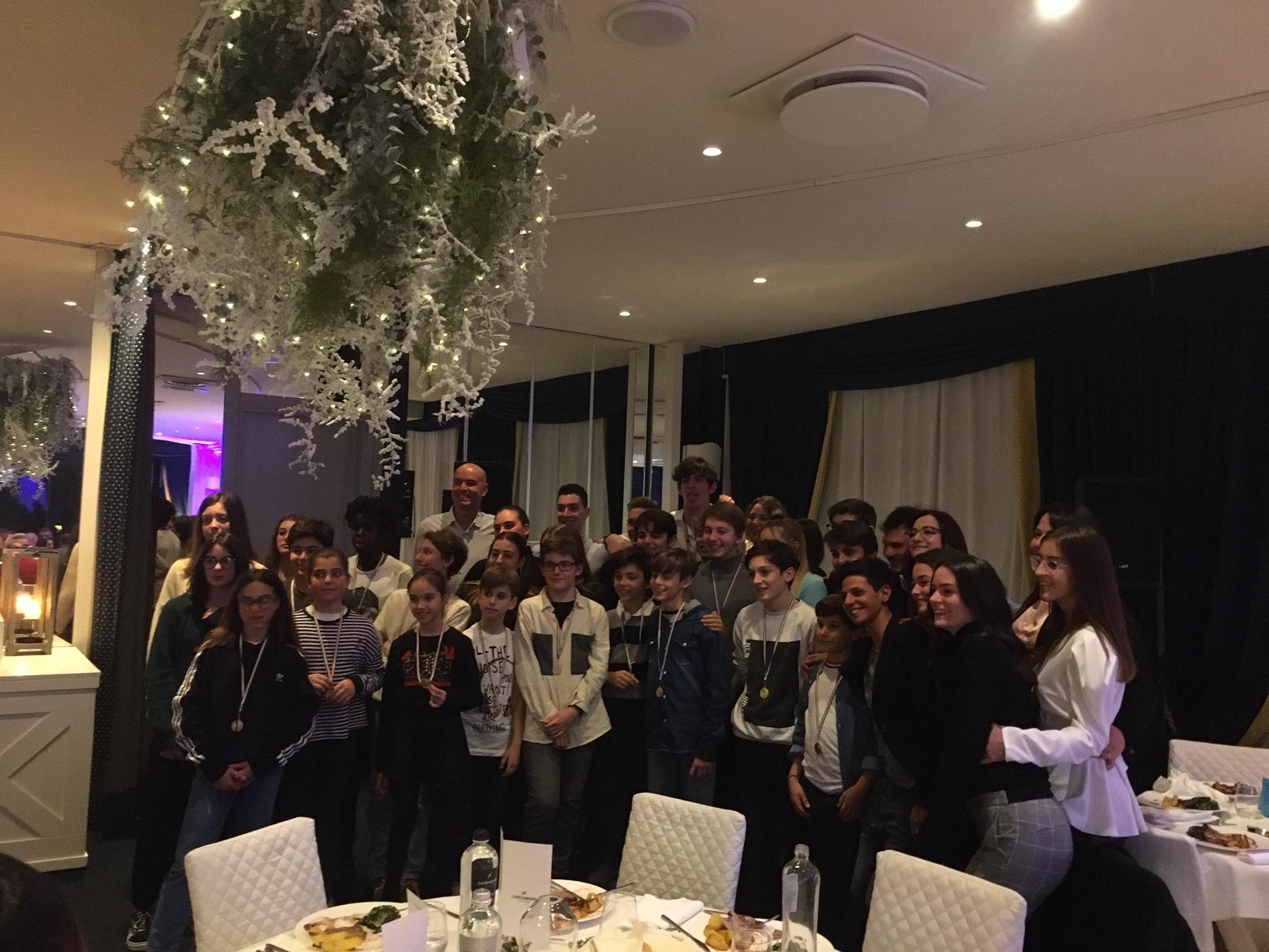 Tennis Club Riccione: premiazione giovani Agonistica