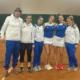 Le ragazze di A1 del Tennis Club Faenza
