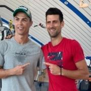 CR7 e Novak Djokovic