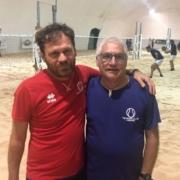 Beach tennis Viserba: Stefano Venturi e Roberto Cressi