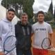Andrea Picchione con Giorgio Galimberti e Federico Bertuccioli