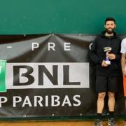 Federico Maccari e Federico Bertuccioli vincitori dell'Open BNL a Rivoli Torinese