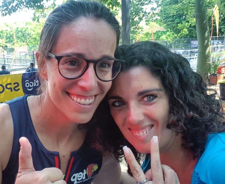 Lucia Sainz e Sara D'Ambrogio