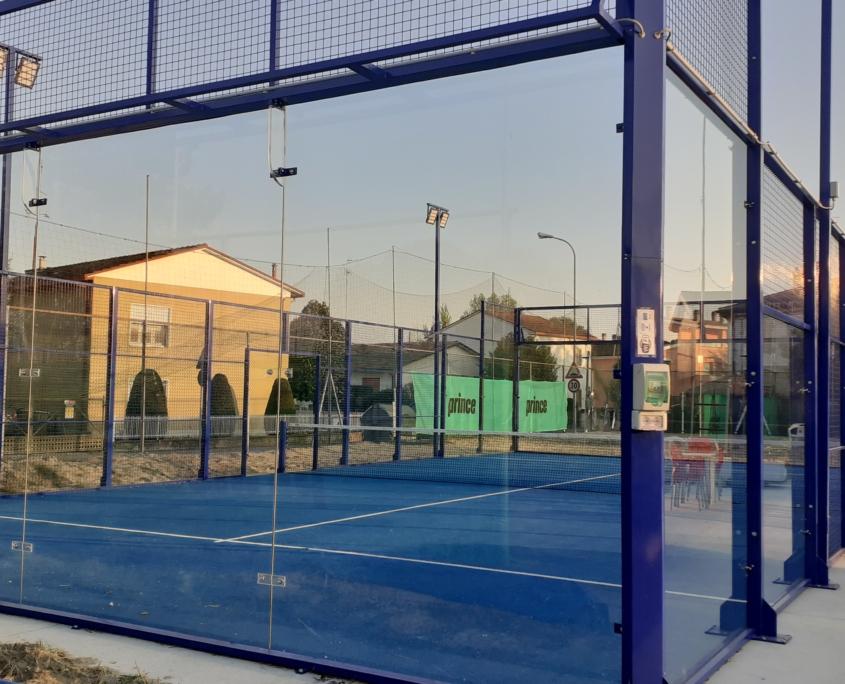 Russi Sporting Club: il campo da padel