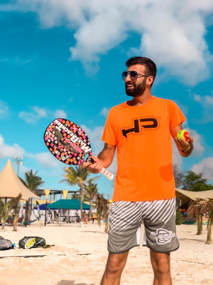 Beach Tennis: Tommaso Giovannini