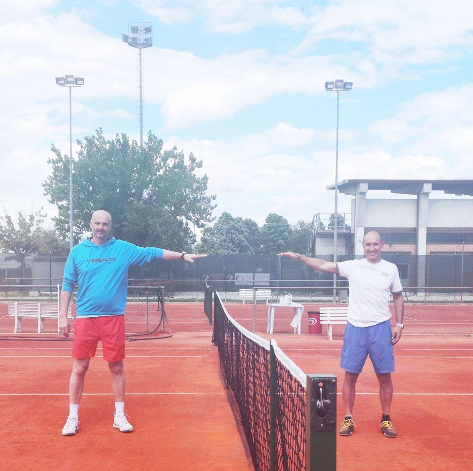 Circolo Tennis Massa Lombarda: i maestri Andrea Bellosi e Ronny Capra