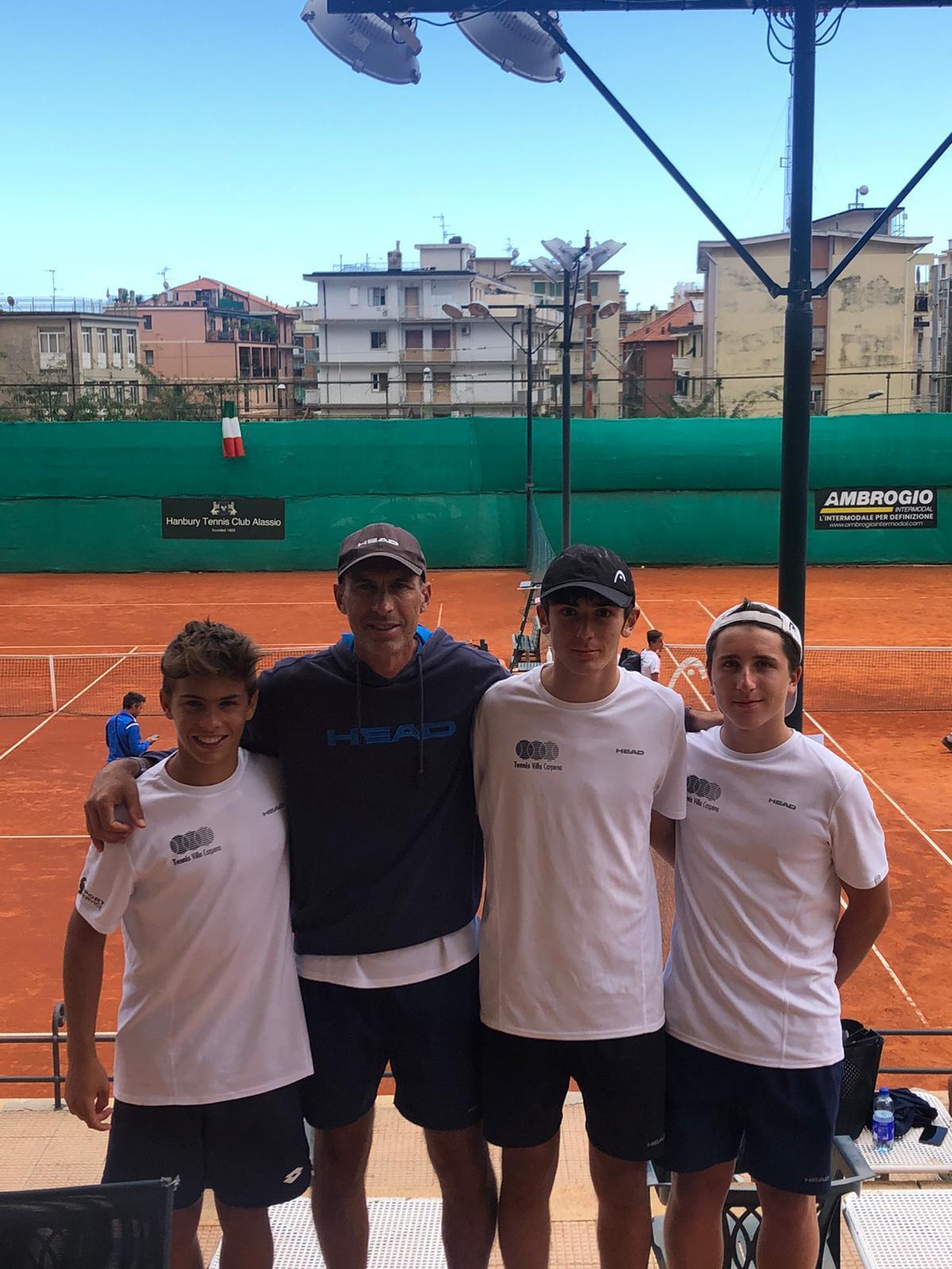 Villa Carpena campione Under 14 maschile