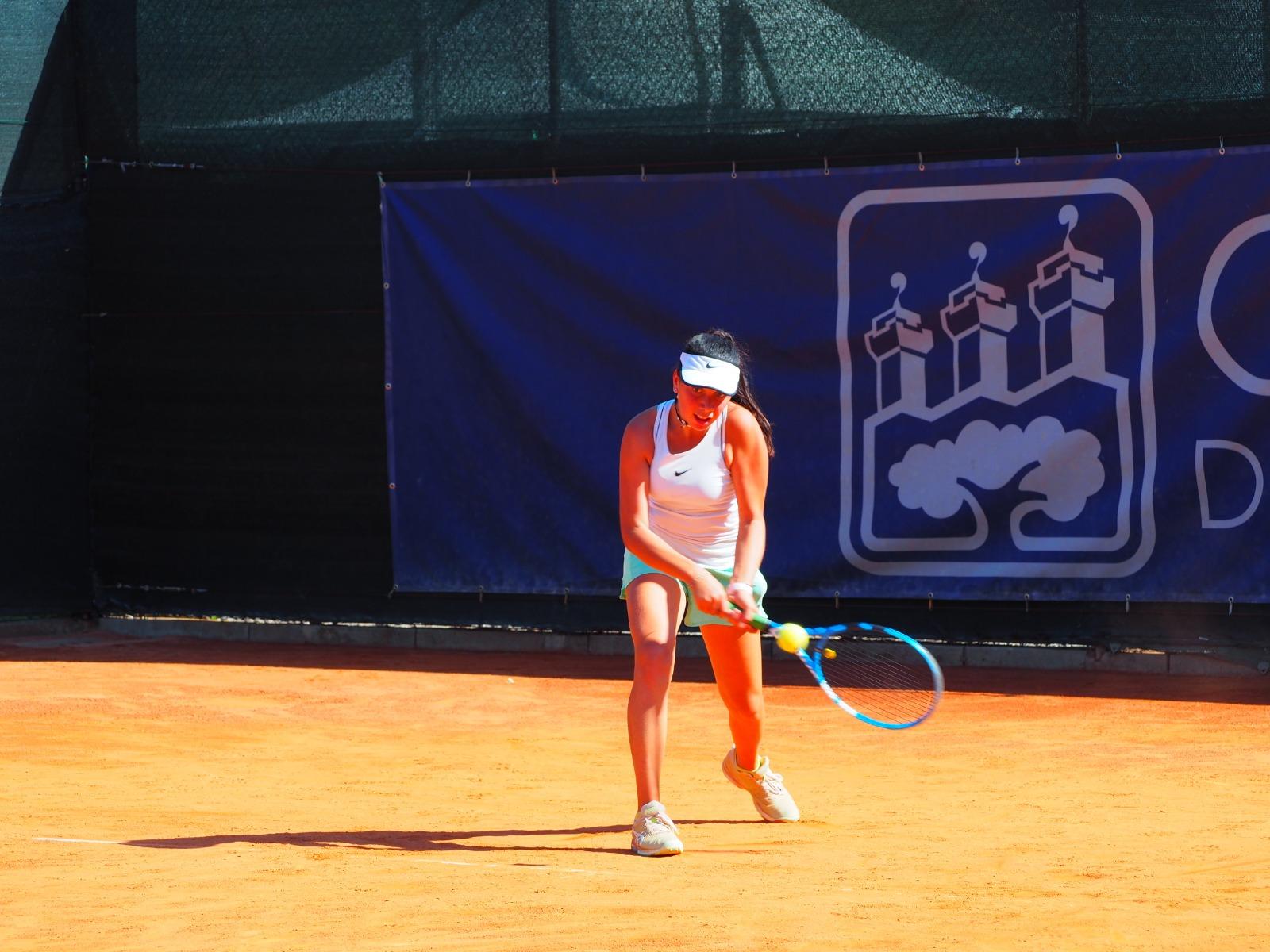 Silvia Alletti in azione
