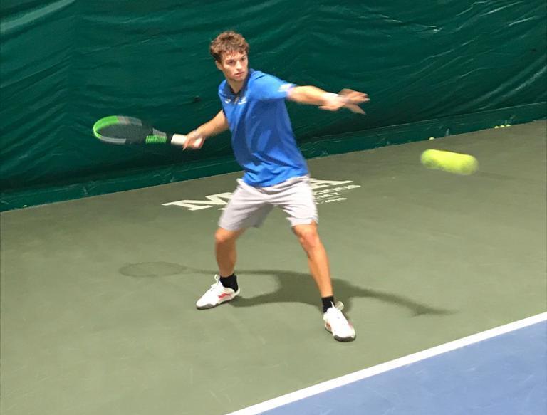Daniel Bagnolini in allenamento